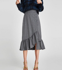 Zara midi suknja 36