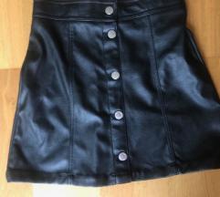 Kožna suknja 158