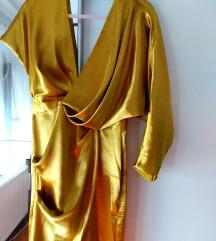 Asos zlatna haljina