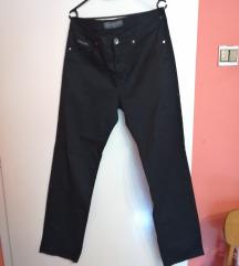 muške crne hlače W 36