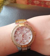Guess zlatno srebrni sat W16563L1