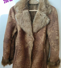 POMPÖÖS bunda od velur kože