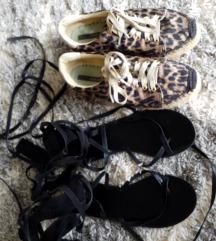 Lot sandale espadrile