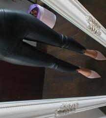 Zara kožne tajice/ hlače