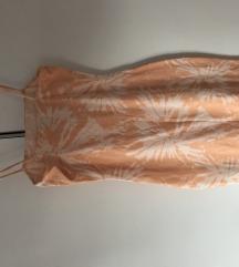Hm haljina  bijela narančasta