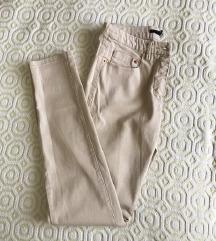 NOVE H&M bež uske hlače ✨