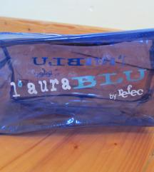 Laura blu kozmetička torbica, nova