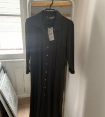 Siva košulja haljina - Zara - novo s etiketom