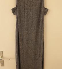 Siva midi haljina H&M
