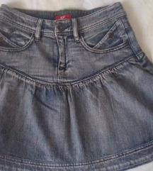 Jeans suknja, S