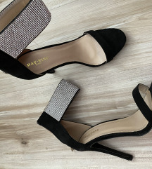 Sandale s cirkonima 40