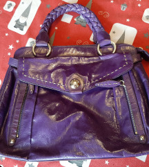 Ljubičasta Tosca blu torbica