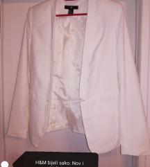 H&M bijeli sako