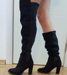 Visoke crne čizme