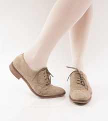 Bež kožne cipele