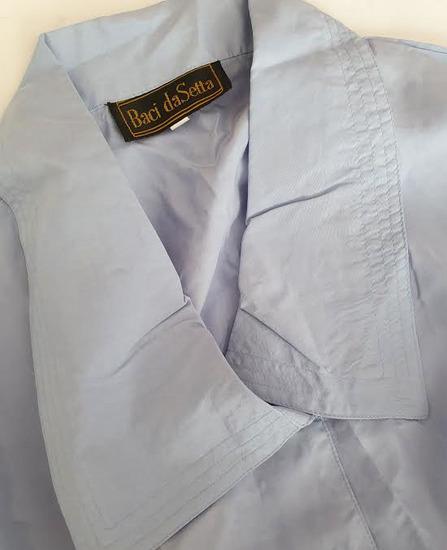 BACI DI SETA košulja s velikom kragnom -100% svila