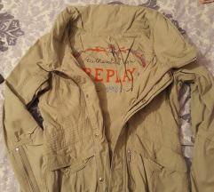 Replay jakna siva