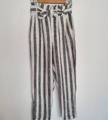 Bershka lanene hlače