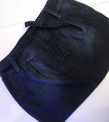 Amisu mini traper suknja