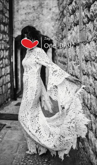 Boho vjenčanica+poklon cipele