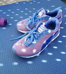 Ljubičasto-plave Puma tenisice vel. 37,5