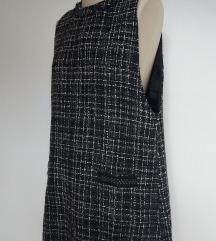 ZARA haljina tunika od tvida