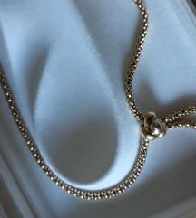 Zlatna ogrlica NENOSENA