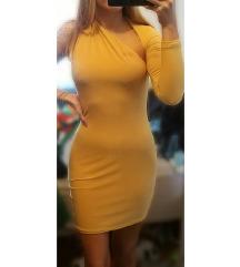 NOVA Asos Club L London haljina s jednim rukavom