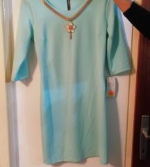 Haljina svijetlo plava