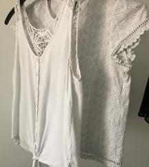 LOT bijele ljetne bluze