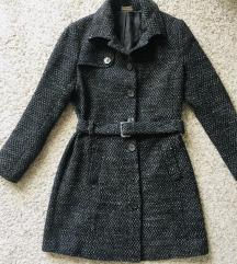 Sivi zimski kaput vel 36-38