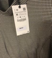 Zara pepito midi haljina sa remenom