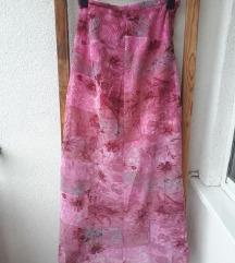 Roza vintage suknja