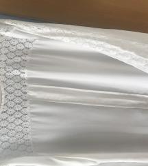 Bijela bluzica s čipkom