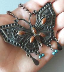 Ogrlica sa leptirom