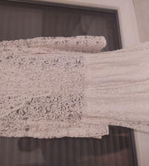 Mango čipkana haljina m