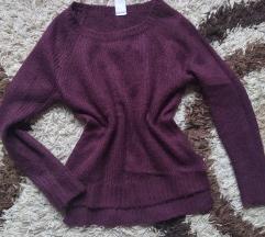 Ljubičasti pulover