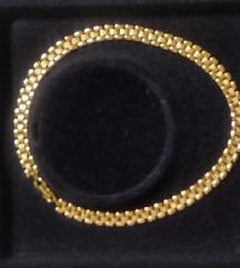 MONET svečana ogrlica - pozlata