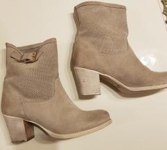 Čizme brusena koža pt u cijen%%%120%%%.
