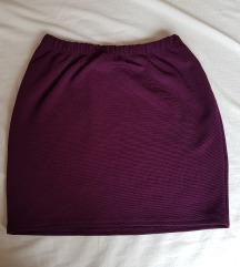 Kratka ljubičasta suknjica