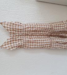 Ljetna haljina na bratelice