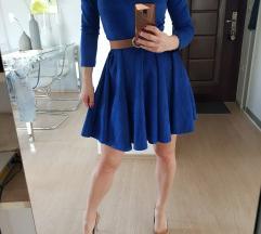 Royal blue haljina