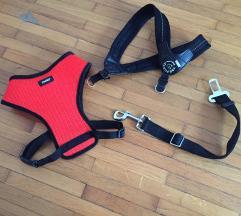 Oprsnice za psa(Tre Ponti)+ sigurnosni remen
