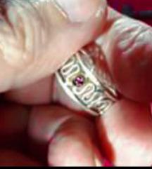 Srebrni 925 prsten za nogu