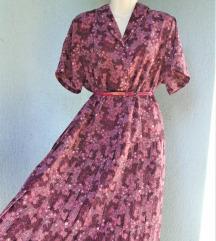 Cvjetna vintage haljina
