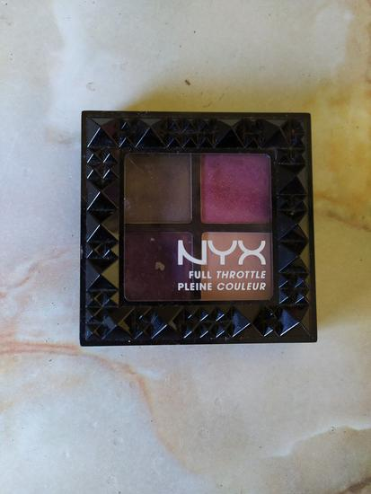 Nyx paleta sjenila