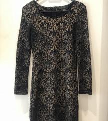 Amisu mini haljina s dugim rukavima