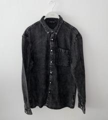 Muška Jeans košulja(siva)(poš. u cijeni)