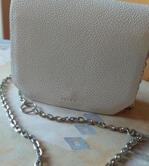 Nova bijela elegantna ženska torbica
