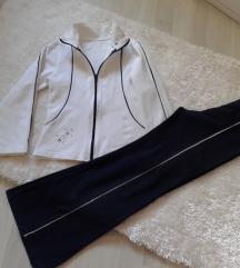 Trenerka plavo-bijela (streč) KOMPLET jakna&hlače